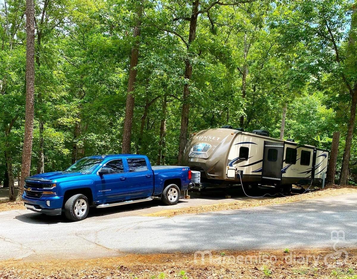 アメリカのキャンプスタイル