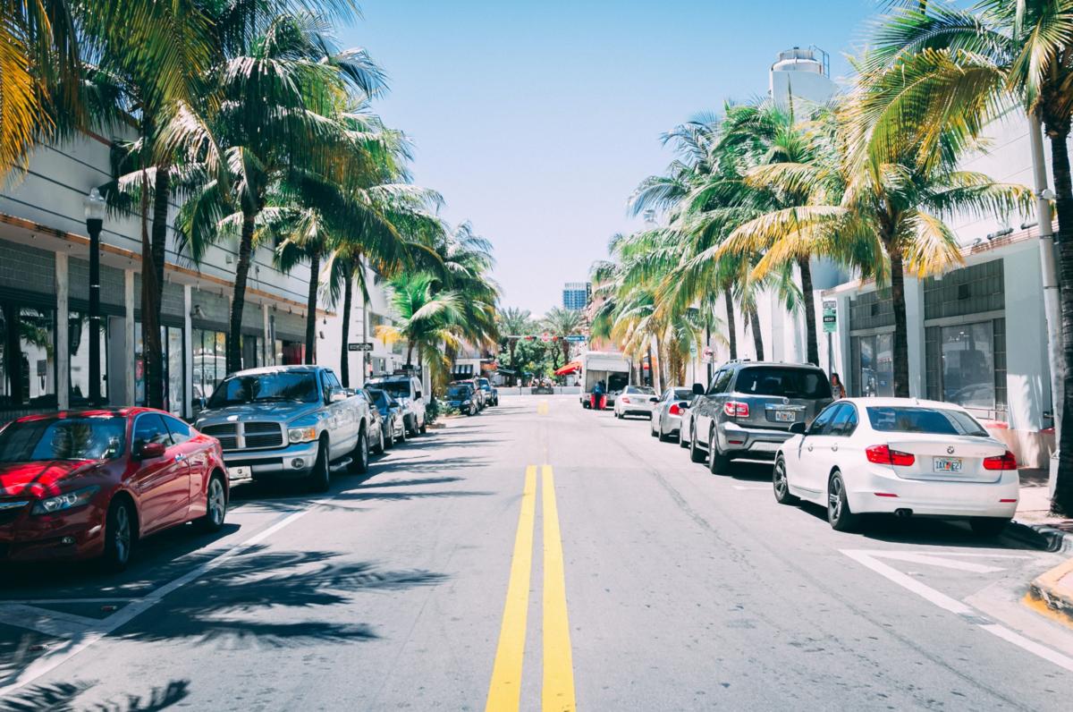 マイアミの道路