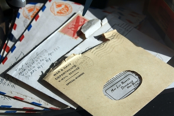 海外の手紙の写真