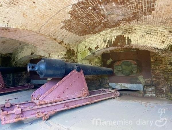 巨大な大砲