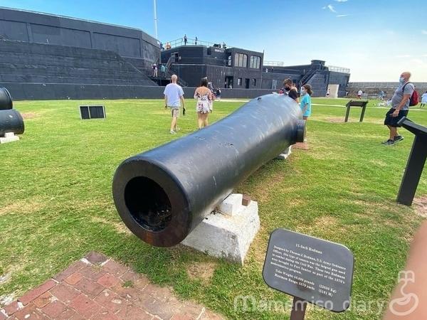 大砲の様子