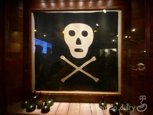 本物の海賊旗