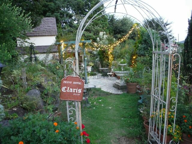 花の森クラリスの庭園