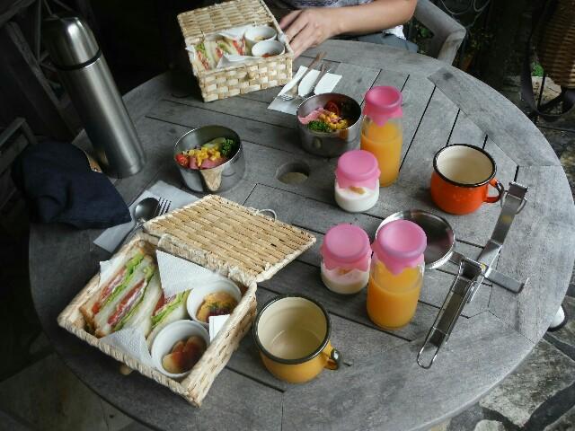 花の森クラリスの朝食