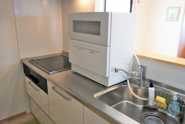 中古品を活用して安く食洗機を設置する方法