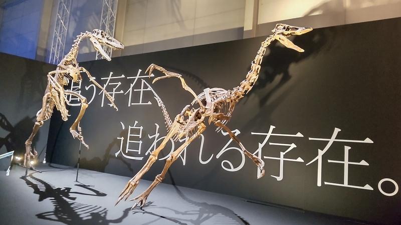 ラプトルから逃げる恐竜