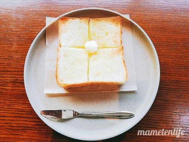 タイボウコーヒージェラートソフトのバタートースト