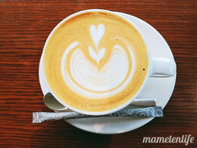 タイボウコーヒージェラートソフトのカフェラテ