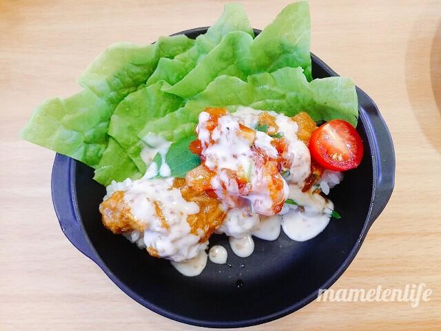 かっぱ寿司海鮮シャリーマカレーの外見