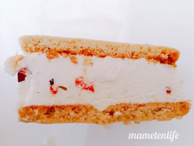 ローソンザクバタベリベリチーズの断面