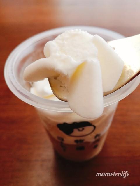 ファミリーマートたべる牧場コーヒーのミルクアイス
