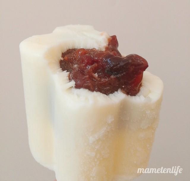 丸永製菓あいすまんじゅうクリームチーズの小豆あん