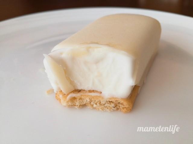 セブン‐イレブン まるでチーズケーキのようなチーズスティックが溶けてきたところ