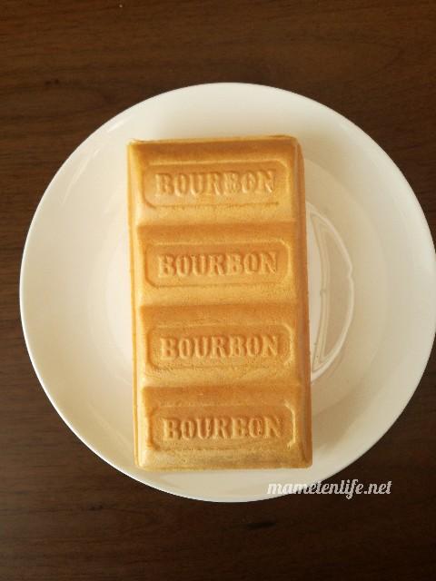 ブルボンルマンドアイス抹茶の外見