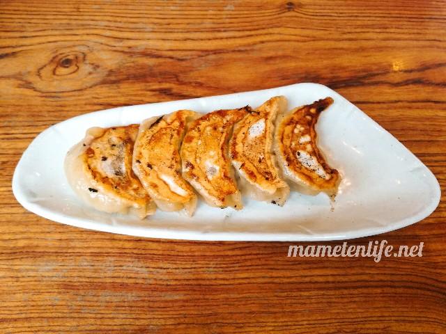 麺屋Aishin愛心の餃子