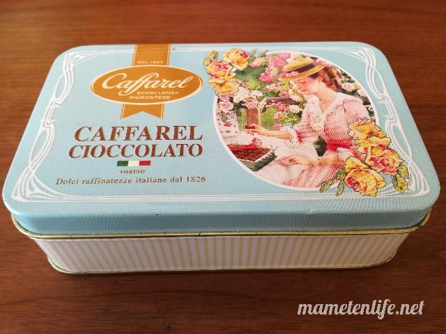 カファレルのアソート缶