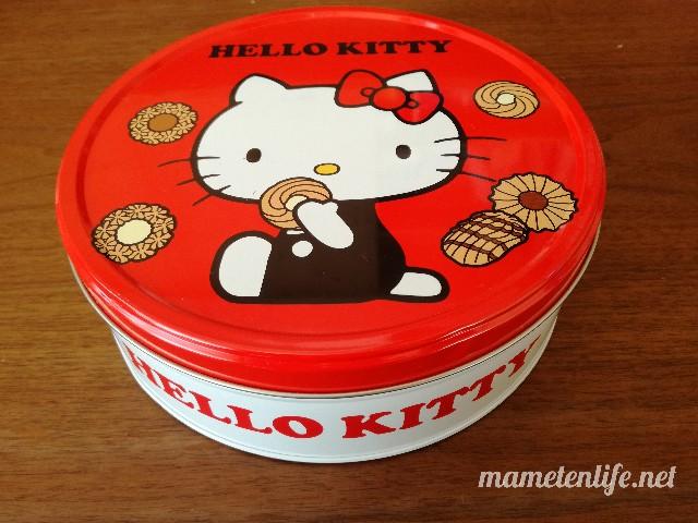 ブルボントルテクッキー缶(ハローキティ)