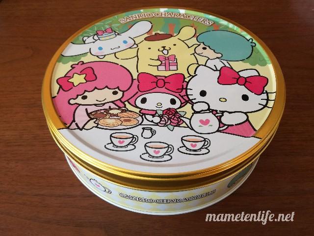 ブルボントルテクッキー缶(サンリオキャラクターズ)