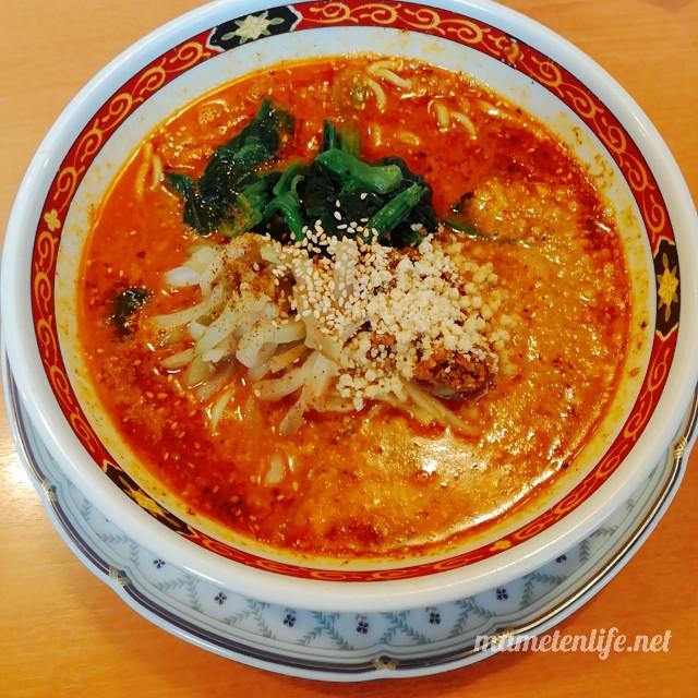 麺食堂かなみ屋の四川担々麺醤油ベース