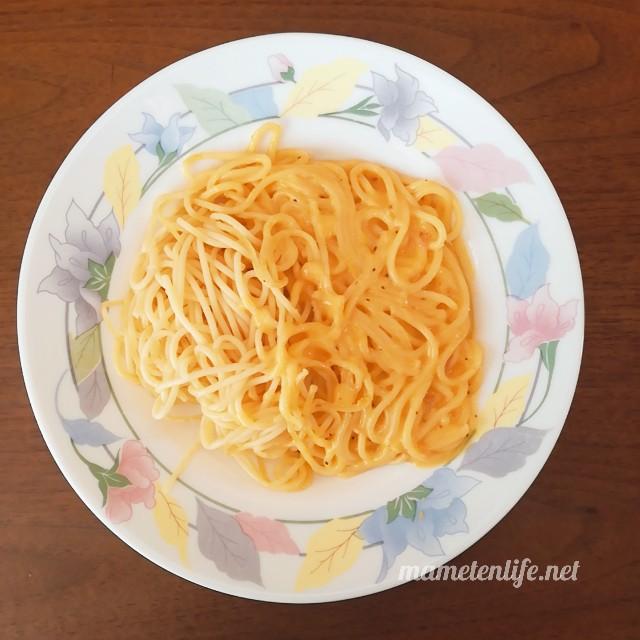 Oliveto(オリヴェート)スパゲティ・カルボナーラを開封したところ