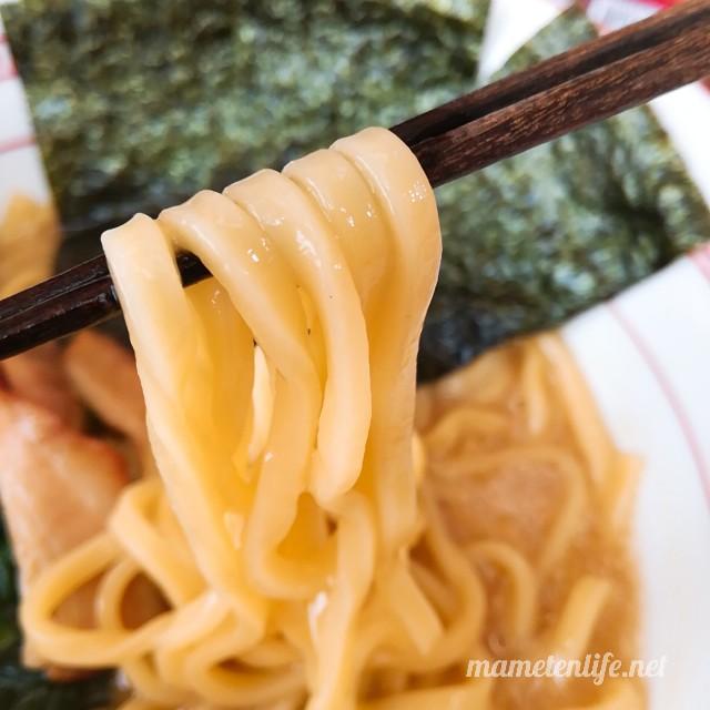 キンレイお水がいらない横浜家系ラーメンの麺