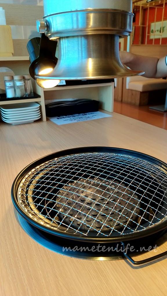 キラキラレストラン焼肉黒真のテーブルの説明