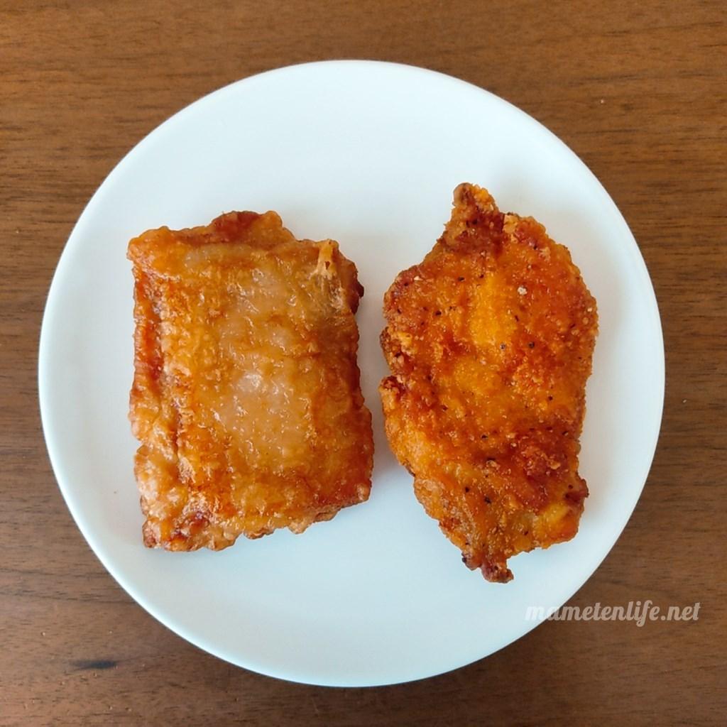 セブンイレブンの揚げ鶏とななチキ
