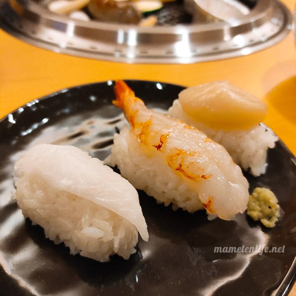 GriLL CamP(グリルキャンプ)新潟店のお寿司