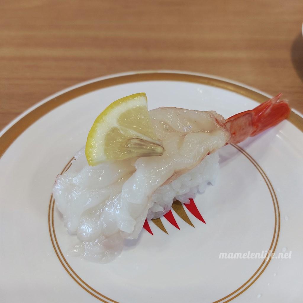 かっぱ寿司の赤えび