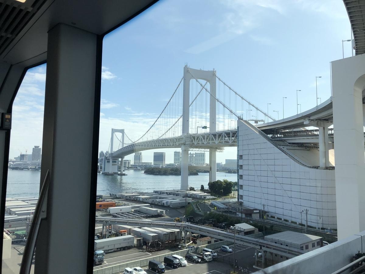 大きなレインボーブリッジ