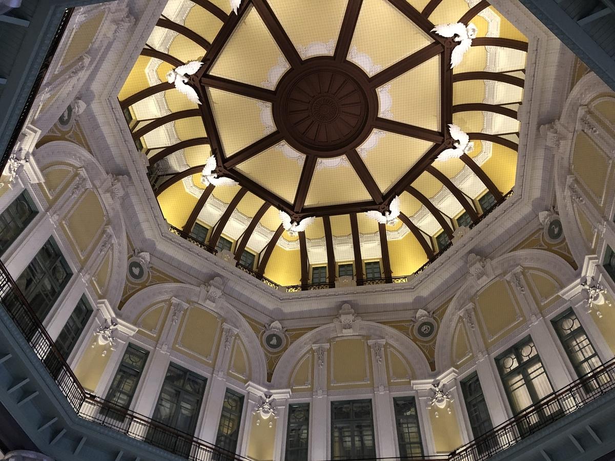 東京駅の駅舎のドーム