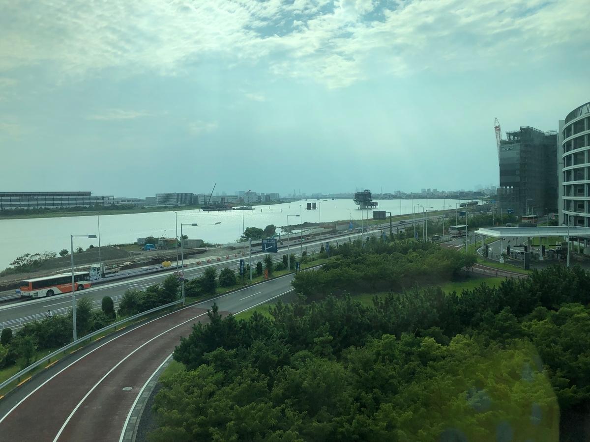 東京モノレールから見る景色