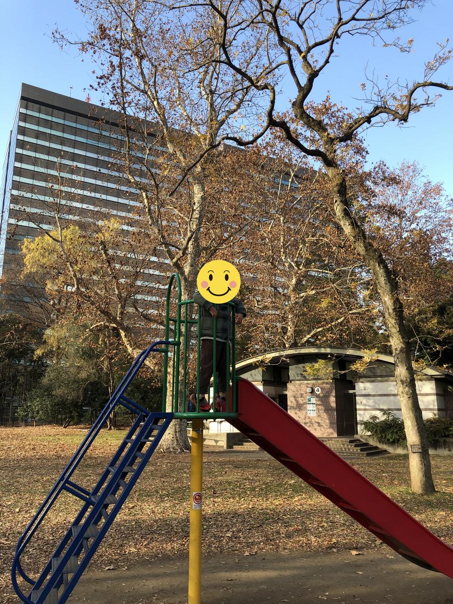 都心だけど遊具がある日比谷公園