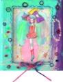 2011.8 ハンバーガーSHOPでスカウトされた子(絵画甲子園展・練習試合展