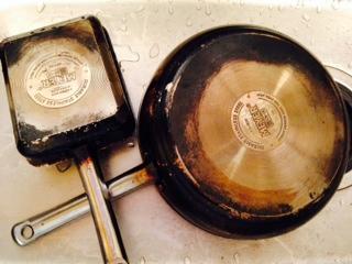 マイヤースターシェフ フライパンと卵焼き器画像