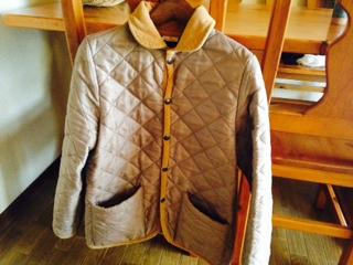 スモックショップのキルティングジャケット画像