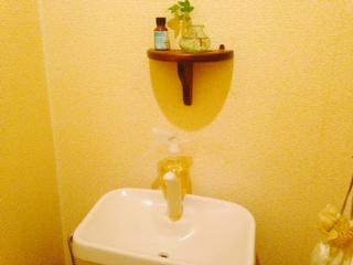 トイレのシンク画像
