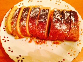 自家製パウンドケーキ画像