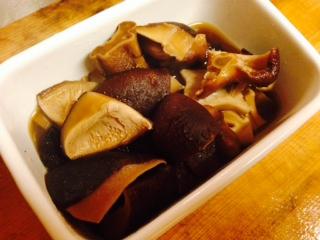 椎茸の煮物画像