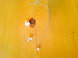 プラチナ一粒ダイヤのネックレス