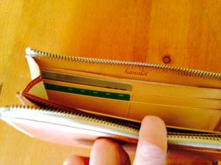 財布の中のカード画像