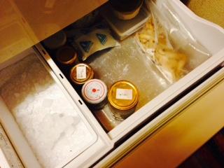 冷凍庫の中画像