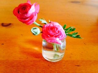 花瓶として利用した空き瓶画像