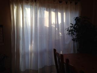 リネンのカーテン画像