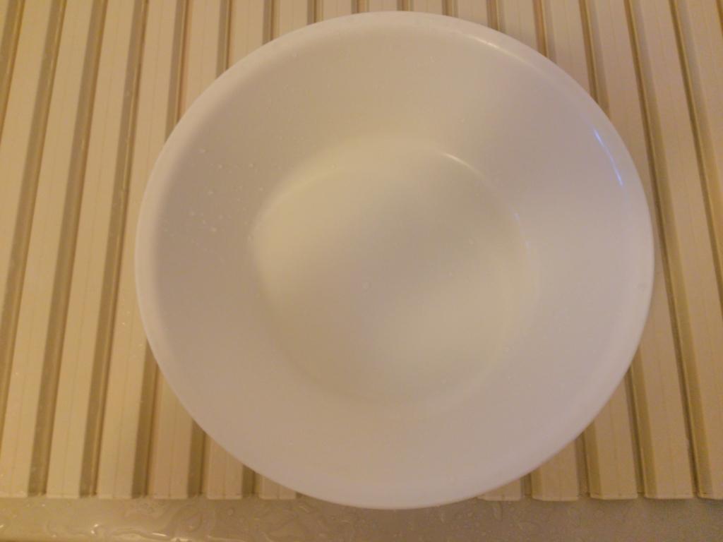 無印良品の白い洗面器画像