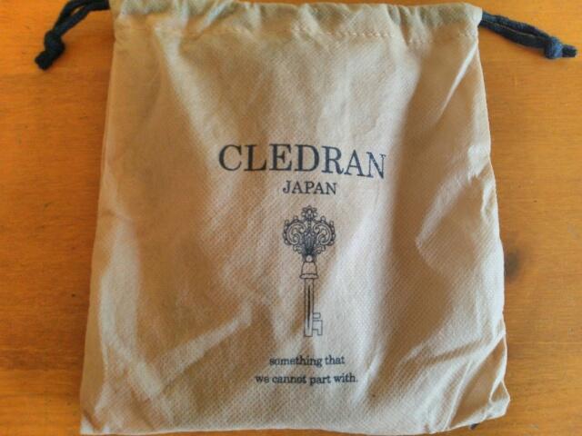 クレドラン 長財布の保存袋画像
