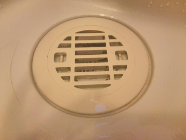 お風呂の排水溝画像