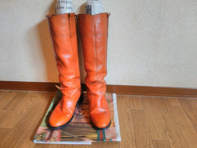 ファビオルスコーニ ロングブーツ画像