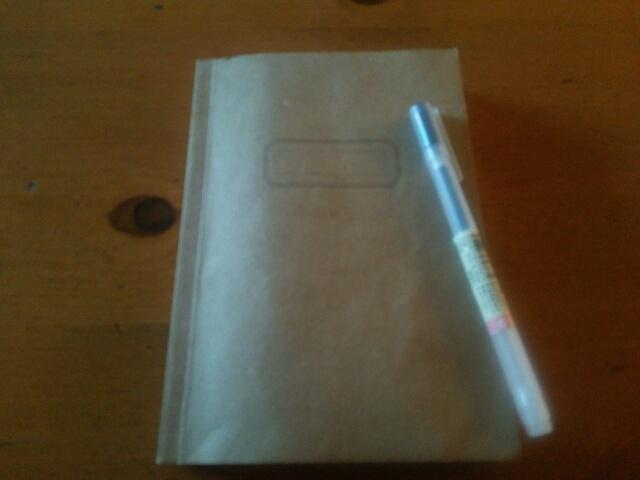 欲しい物、やることを書き出しているノート画像
