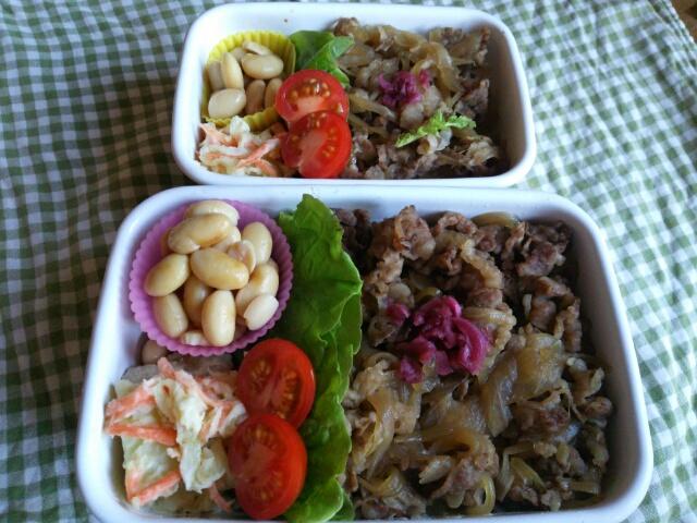 野田琺瑯 ホワイトレクタングルをお弁当箱に使用しているお弁当画像